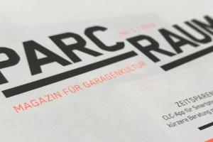Magazin »Parcraum« – Für eine markante Außendarstellung