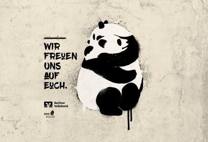 »Wir freuen uns auf Euch« – Pandabären werden zum Symbol für das Wir-Gefühl